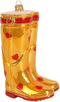 Harrods Heart Wellies Christmas Decoration