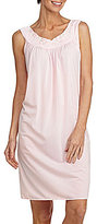 Miss Elaine Sleeveless Embroidered Nightgown
