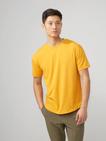 Frank + Oak drirelease® Loose Fit T-Shirt in Tangerine