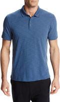 Vince Classic Cotton Slub Polo Shirt