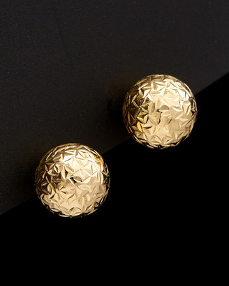 Italian Gold Fremada 14K Ball Earrings
