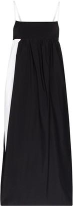 Markoo Two-Tone Maxi Dress