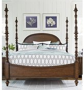Paula Deen Home Dogwood King Poster Bed in Low Tide
