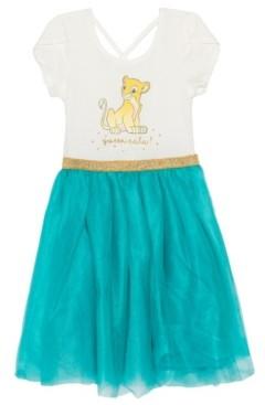 Disney Big Girls Nala Short Sleeve Tutu Dress