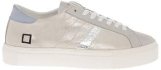 D.A.T.E Vertigo Laminated Platinum Sneaker