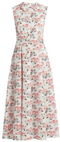 Emilia Wickstead Fabiola floral-print midi dress