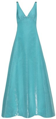 Marc Jacobs Cotton-blend faille gown