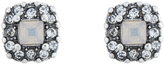 Accessorize Bling Square Stud Earrings