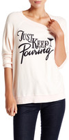Wildfox Couture Just Keep Pouring Kim&s Sweater