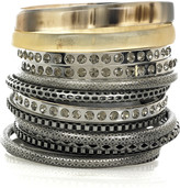 Jane mixed bangle set