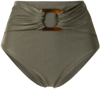 PatBO High-Rise Bikini Bottoms