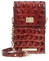 Brahmin Madison Leather Smartphone Crossbody Bag