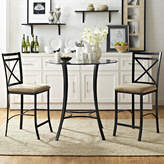 Andover Mills Boxwood 3 Piece Counter Height Dining Set