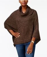Karen Scott Poncho Sweater, Created for Macy's