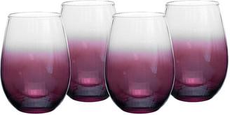 Spode Kingsley Stemless Wine Glasses, Set of 4