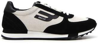 Bally Cotton And Suede Gavino Sneakers