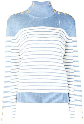 J.W.Anderson Striped Turtleneck Sweater