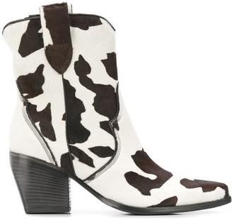 Kennel + Schmenger Kennel&Schmenger cow hair cowboy boots
