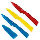 Kuhn Rikon Colori Plus Prep 3-Piece Paring Knife Set