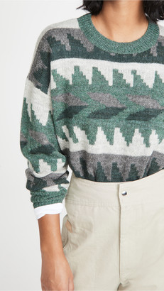 Etoile Isabel Marant Gatsy Alpaca Pullover Sweater