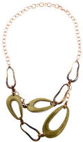 Alexis Bittar Lucite Double Strand Necklace