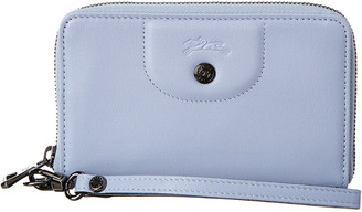 Longchamp Le Pliage Leather Compact Wallet