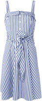Polo Ralph Lauren striped dress - women - Cotton - 8