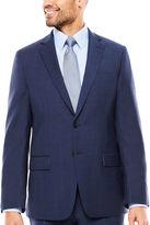 Claiborne Slim Fit Plaid Suit Jacket-Slim
