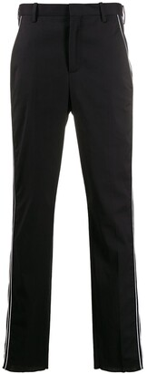 Neil Barrett Contrast Piped Tailored Trousers