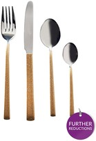 Viners Dazzle Gold 16-piece Cutlery Set