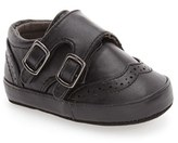 Kenneth Cole New York Infant Boy's 'Baby Club' Monk Strap Crib Shoe