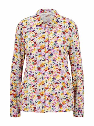 Tom Tailor Women's Floralprint Bluse T-Shirt