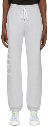 Amiri Grey Large Logo Lounge Pants