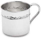 The Well Appointed House Reed & Barton Sterling Silver Baby Cup with Scroll Design