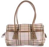 Burberry Nova Check Handle Bag