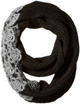 Betsey Johnson Winter Bloom Infinity Scarf