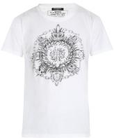 Balmain Medal-print Crew-neck T-shirt