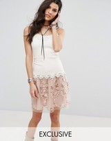 Anna Sui Exclusive Lace Tiered Dress