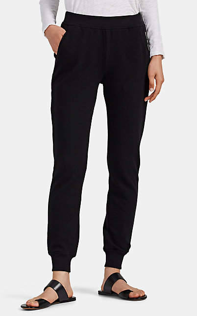 ATM Anthony Thomas Melillo Women's Cotton French Terry Sweatpants - Black