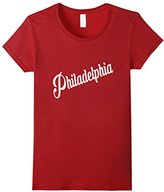 Women's Philadelphia Retro Vintage Souvenir T-shirt Large