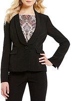 Alex Marie Smith Shawl Collar Long Sleeve Jacket