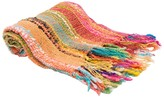 Karma Living Woven Rainbow Throw - 50 x 60