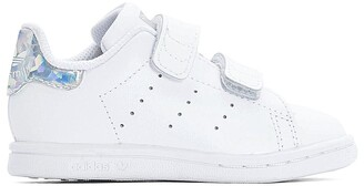 adidas Infants Stan Smith Touch 'n' Close Trainers