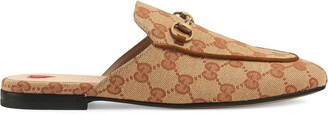 Gucci Princetown GG slippers