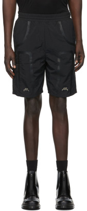 A-Cold-Wall* Black Welded Corbusier Shorts