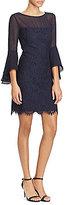 Lauren Ralph Lauren Lace Bell Sleeve Dress