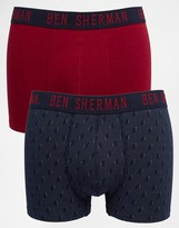 Ben Sherman 2 Pack Boxers