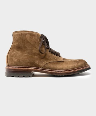 Alden Indy Boot in Snuff Suede