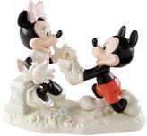Lenox Collectible Disney Figurine, Mickey Mouse and Friends Minnie's Dream Proposal