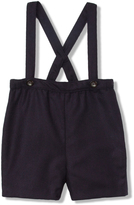 Marie Chantal Baby BoySuspender Wool Short